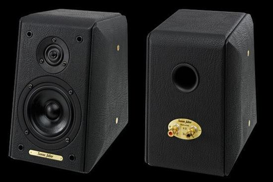 Master Of Sound  Sonus Faber Toy Classic Black Leather